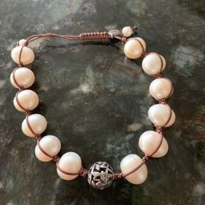 Silpada Rugged Pearls Bracelet